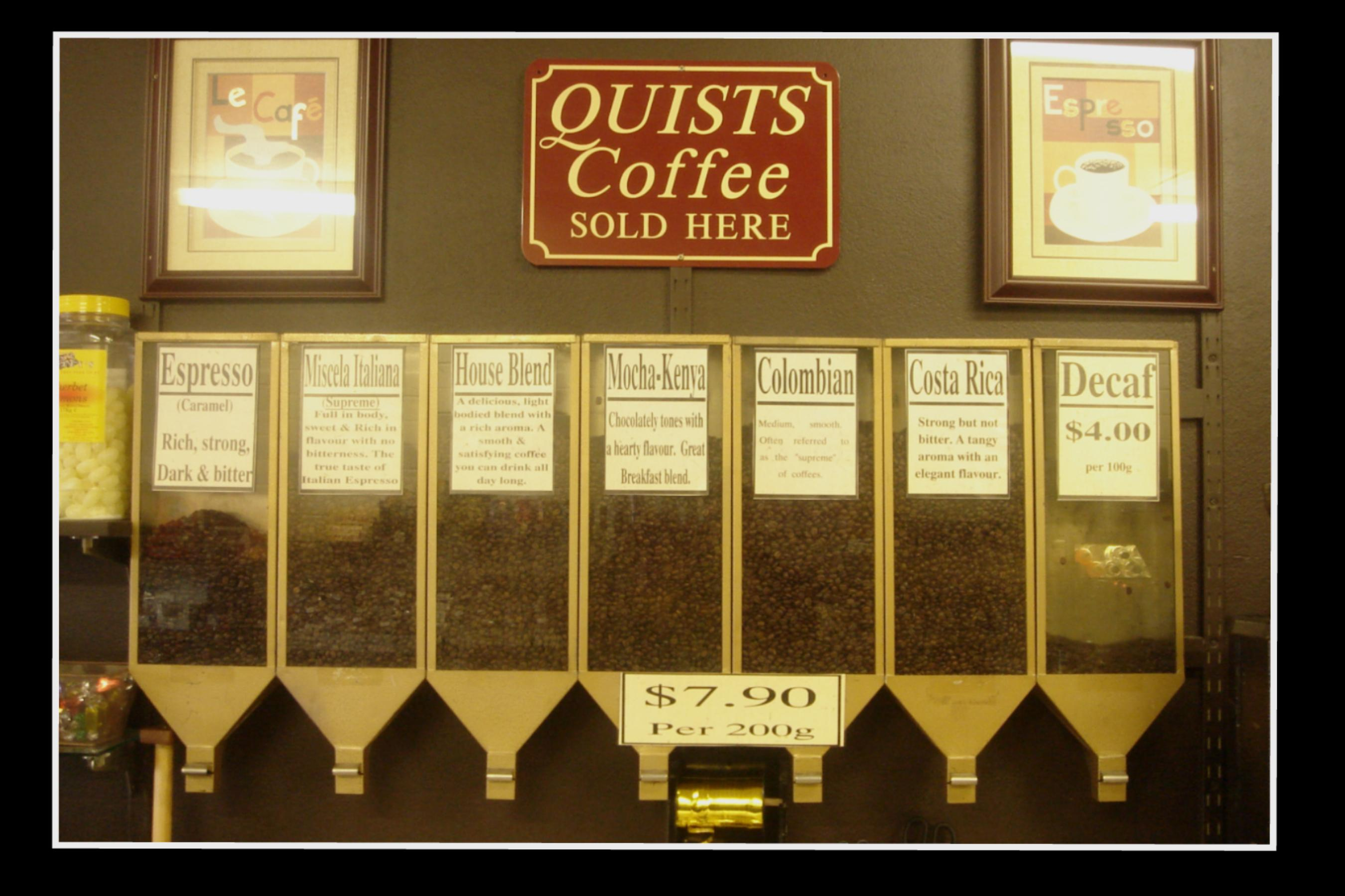 Quists Coffee Beans